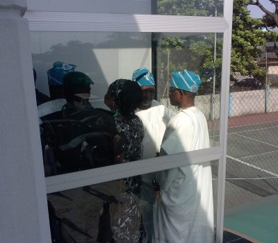 Vice President Of Nigeria At The Island Club. Newly Built Lifts By VIP Lift.